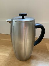 STARBUCKS FRENCH PRESS BARISTA Brushed STAINLESS STEEL THERMAL  POT 32 OZ