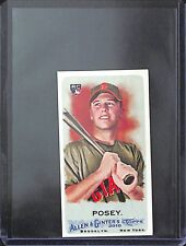 2010 Topps Allen and Ginter Mini Bazooka #294 Buster Posey No 2 of 25