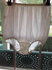 Vtg Bubble Granny Panties Nylon Heiress Sz 7 Mushroom Gusset