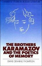 The Brothers Karamazov and the Poetics of Memory (Cambridge Studies in-ExLibrary