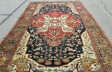 Important Antique Persian Serapi Carpet Rug_11 x 18_Shrewsbury Museum Collection