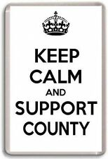 KEEP CALM AND SUPPORT COUNTY, DERBY COUNTY  FOOTBALL TEAM Fridge Magnet