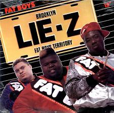 "FAT BOYS Lie-Z 12"" + 7"" VERSION/ DUB/ ON AND ON NEW PROMO VINYL RAP HIP HOP LP"