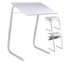 NEW TABLE MATE TV DINNER LAPTOP TRAY ADJUSTABLE FOLDING TABLE DESK