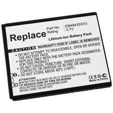 Akku Li-Ion Batterie Accu für Samsung I5510 Galaxy 551