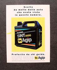 [GCG] L403- Advertising Pubblicità - NUOVO AGIP SINT 2000