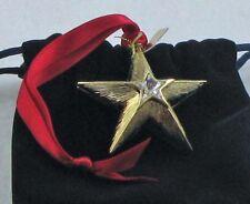 Estee Lauder Perfume Solid Compact Christmas Holiday '08 Star White Linen NIB