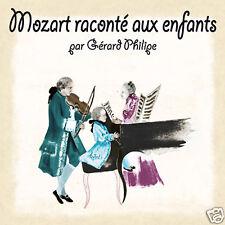 CD Mozart raconté aux enfants / Gérard Philipe