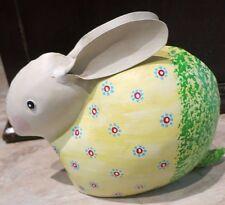 Objeto decorativo Figura Conejo Metal de Pascua tamaño S Decoración
