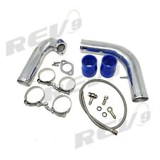NEW REV9 TURBO J PIPE KIT 95-99 2G ECLIPSE TALON TSI DSM 16G 20G GST GSX 4G63