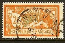 """FRANCE TIMBRE STAMP N° 145 """" MERSON 2 F ORANGE ET VERT BLEU """" OBLITERE TB"""