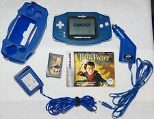 Gameboy Advance Toys R Us Edition Blue Handheld System / Game & Protective Cover