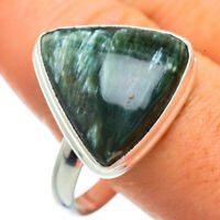Seraphinite 925 Sterling Silver Ring Size 14 Ana Co Jewelry R42162F