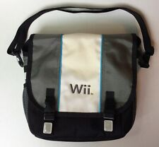 NINTENDO Wii BLK/GRAY/BLUE TRAVEL STORAGE BAG CASE W/STRAP- A.L.S. INDUSTRIES