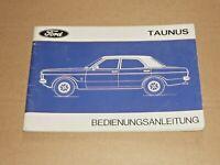 FORD Taunus 1971 Betriebsanleitung Bedienungsanleitung Handbuch
