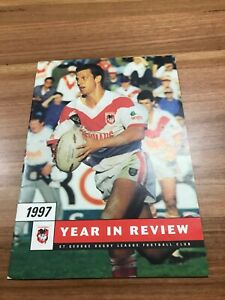 1997 ST GEORGE DRAGONS RUGBY LEAGUE YEARBOOK
