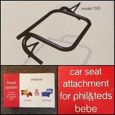 PHIL & TEDS CAR SEAT ATTACHMENT BEBE DASH SPORT CLASSIC E3 REDUCED! BUY NOW!