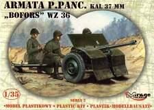 37mm BOFORS WZ.36 / ORDNANCE QF 37mm Mk I / - WW II ANTI-TANK GUN 1/35 MIRAGE