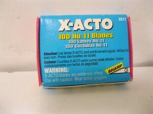 X-Acto No. 11 Classic Blades Bulk Pack of 100