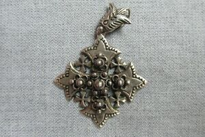 Silver Jerusalem Cross -- C20th -- Pendant -- Catholic / Religious Interest