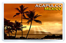 ACAPULCO MEXICO SUNSET FRIDGE MAGNET SOUVENIR IMAN NEVERA