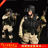 1:12 CrazyFigure LW005 US Delta Special Forces Sergeant Soldier Figure Full Set