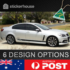 Holden VF Commodore Track Side Stripe Decal Kit SUIT SS SV6 HSV GTS