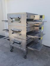 """MIDDLEBY MARSHALL TRIPLE STACK PS536GS GAS CONVEYOR OVENS ***20"""" BELT WIDTH***"""