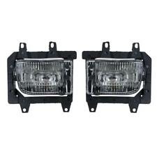 1Pair Front Bumper Driving Fog Lights for BMW E30 318i 318is 325i 1985-1993 NEW