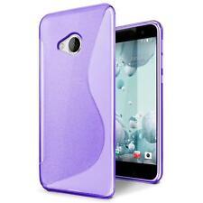 Handy Hülle HTC One M7 Schutz Case Silikon Cover Tasche Schutzhülle Bumper