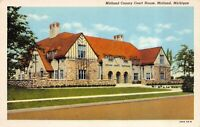 Postcard Midland County Courthouse in Midland, Michigan~121741