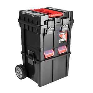 Rollwagen Werkzeugkoffer Werkzeugkiste Wheelbox HD Compact Werkzeugtrolley
