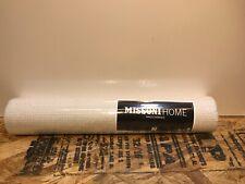 York Wallcoverings MI10023 Missoni Home Mini Chevron - Pearl/Silver