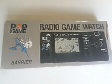 POP GAME Barrier Radio Game & Watch 1980 BOXED complet lcd works