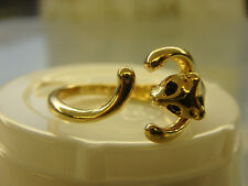 Cat Ring size 6 and is adjustable, very cute