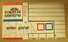 1976 Rush Ted Nugent Reo Speedwagon Boc Wash D.C. Concert Ticket Stub Geddy Lee