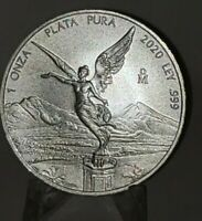 2020 Mexico 1oz Silver Libertad Onza -   UNC NICE!!! SCARCE SHIPPED RIGHT AWAY