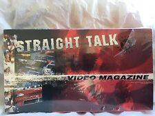 Strait Talk Video Magazine R.J. Reynolds Tobacco VHS Non Rental 1999 Winston Cup