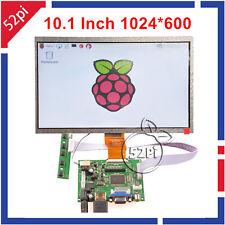 "10.1"" inch 1024*600 LCD Display Driver Board HDMI+VGA+2AV for Raspberry Pi 3/2"
