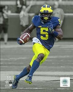 "Jabrill Peppers  Michigan Wolverines Spotlight Action Photo (Size: 8"" x 10"")"