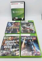 Xbox 360 Game Lot L.A Noire Far Cry 3 Mass Effect 3 Grand Theft IV Splinter Cell