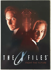 X-Files Fight the Future Movie Promotional Trading Card P1 Topps 1998