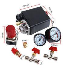 90-120PSI Luft Air Kompressor Druckschalter Control Ventile Druckluft-Regler Neu