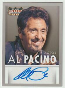 PANINI AMERICANA 2015 AUTOGRAPH CARD AL PACINO SIGNED GODFATHER SCARFACE HEAT
