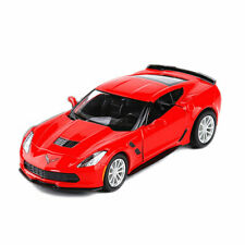 1:36 Chevrolet Corvette Grand Sport C7 Model Car Diecast Collection Toy Gift Red