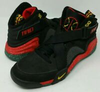 Air Raid Nike Size 12 Good Condition Red Green, Black and Yellow W/white spots