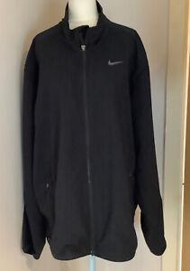 Nike Black Dri-Fit Jacket XL