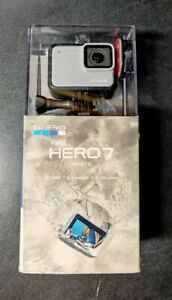 GoPro HERO7 White Waterproof Action Camera | Touch Screen | 1440p HD Video