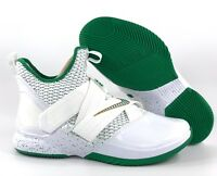 Nike Lebron Soldier XII 12 SVSM Home White Green Gold AO2609-100 Men's 9-13