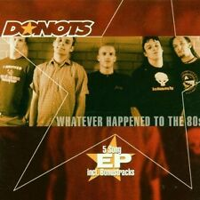 Donots Whatever happened to the 80s (5 tracks, 2000) [Maxi-CD]